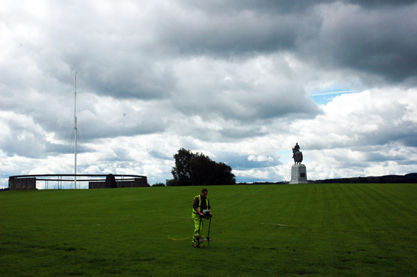 Geophysics in Bannockurn