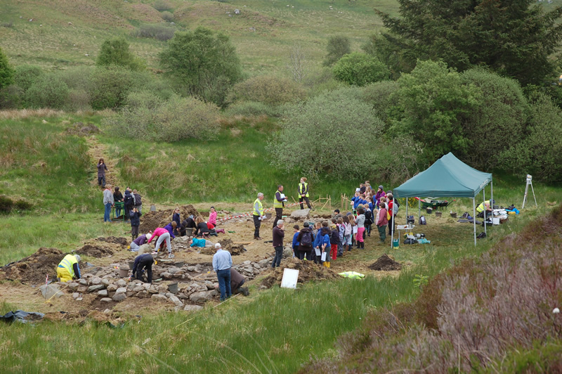 Tigh Caol excavation