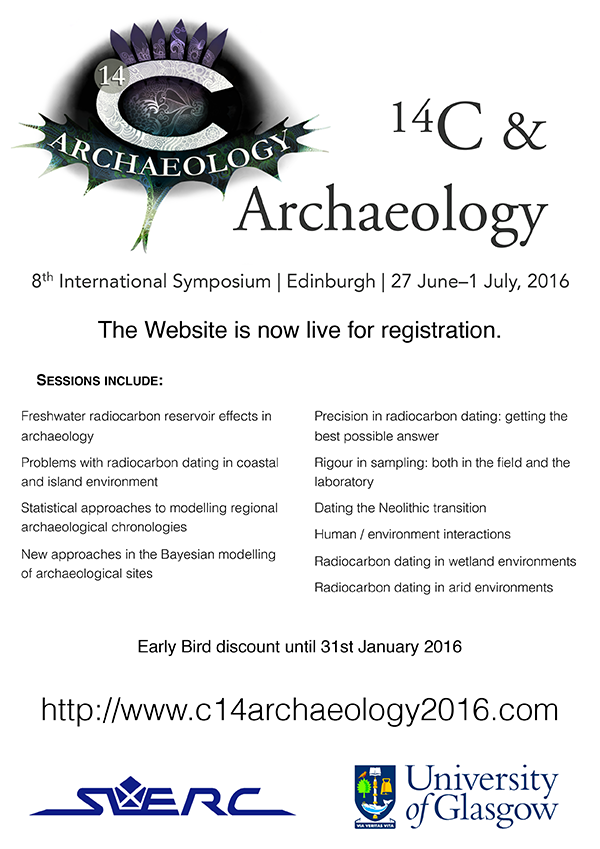 ¹⁴C & Archaeology 8th International Symposium flyer