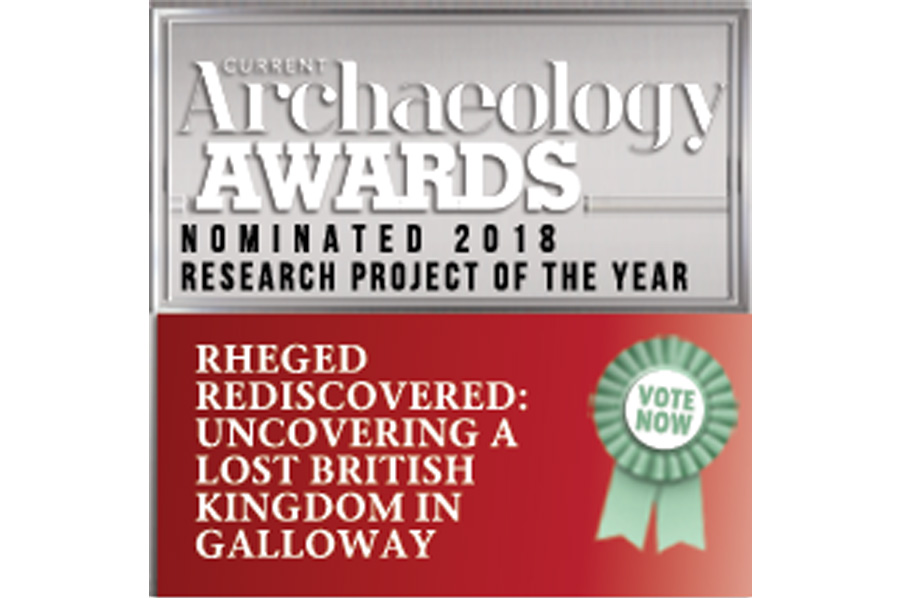 GUARD Archaeology nominated for 2018 Current Archaeology Award